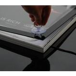 高輝度の中国超スリム磁気LEDライトボックス