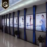 GS китай на заказ большой открытый магазин передняя акриловая светодиодная вывеска супер тонкий рекламный св