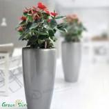 安いカラフルなグラスファイバー植木鉢