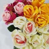 Искусственный цветок розы лебеди, красивый дизайн, дешево и хорошо