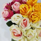 白鳥のバラ造花、美しいデザイン、安くて上質