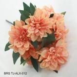 家の装飾のための造花ダリア花の花束シミュレーション束