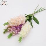 свадебный поставщик фиолетовые цветы искусственный цветок свадебное украшение шелковый цветок