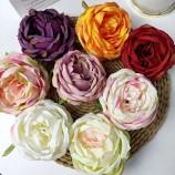 красивый 9-10 см сохранившийся цветок розы для свадебного украшения