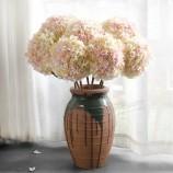 실크 수국 인공 꽃 인공 수국 꽃 도매