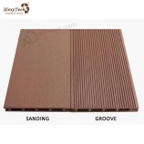 長いスパン寿命で屋外に使用して耐久性のある木製複合デッキ中空ボード