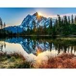 Chenistory 사용자 정의 도매 눈 산 DIY 숫자 키트 풍경 페인트 캔버스 그림 서예 드롭 배송 최고 판매