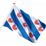 Китай производство дешевые наружные слезоточивые флаги 3 баннера спортивный рекламный флаг