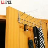 мебельная фурнитура прочный металл над дверью крючок для одежды металлические крючки для вешалки для одежды