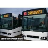 Светодиодная вывеска для автобусов для системы информирования пассажиров