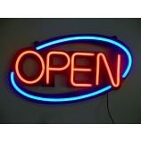освещение магазина открытая светодиодная неоновая вывеска
