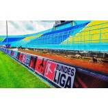 Светодиодная реклама по периметру стадиона, полноцветная рекламная вывеска P8, P10