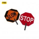 настраиваемый предупреждающий светоотражающий знак, замедляющий движение, парковка запрещена