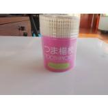 высококачественная бамбуковая одноразовая зубочистка в пластиковой бутылке
