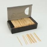 中国のトップグレードの使い捨て竹がペットボトルのつまようじを選ぶ