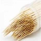 シンプルなデザインの中国製の使い捨て竹と白樺のつまようじ
