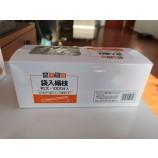высококачественная одноразовая бамбуковая зубочистка в бумажной коробке