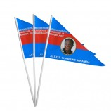 Factory Directly Colorful Plastic Waving Hand Flags