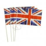 Wholesale Custom Printed National Flag Hand Flag