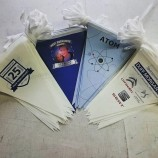 Decorative Custom Double Sided Paper PVC Flag Bunting