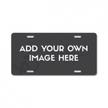 Custom high quality car license plate made of durable plastic with your logo
