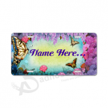 Custom personalized license plates for with your logo