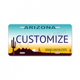 Wholesale Custom personalized car license plate made of durable plastic with your logo