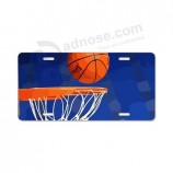 Custom high quality vanity license plates made of durable plastic