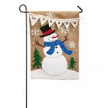 Wholesale custom Garden Flag or cheap price customized Christmas garden flags with your logo
