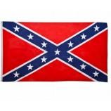Eco-Friendly Printed Polyester Us American Rebel Confederate Flag Custom