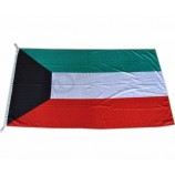 3*5FT Polyester Country Flags Kuwait Flag Wholesale