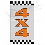 High-end custom rsf324 Flat Top Flag with your logo