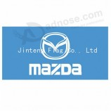 Wholesale Customized Printing Flat Top Flag For Car with your logo