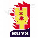 High-end custom RSF322 Flat Top Flag with your logo