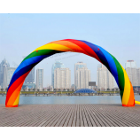 Custom Design Inflatable Rainbow Arch with Blower