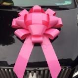Wholesale custom good quality 30 Inch Giant Pink Wedding Car Bow