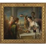 P538 92x79cm European Figure Oil Painting for Home Decoration