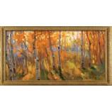 P548 101x51cm Fashionable Home Decoration Landscape Oil Painting