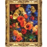 S551 61x82cm Beautiful Flower Canvas Oil Painting for Home Decoration