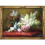 Y547 158x115cm Still Life Flower Oil Painting for Hotel Artwork