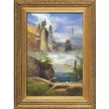 Y550 120x180cm Landscape Oil Painting For Wall Decor Living Room