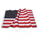 Cheap Wholesaler Price 3x5 Embroidery Nylon American US National Flag For Sale with your logo