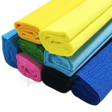 Colored Crepe Paper Rolls Floral Gift Wrapping Crafts