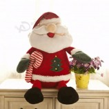 new custom stuffed plush Christmas deco santa claus doll navidad