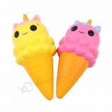 Factory Custom Kawaii Squishy Cute Unicorn Horse Slow Rising Stress Squishy Animal Toys