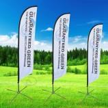 digital printed outdoor advertising usage wind blade flags