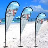 advertising wind swooper flags cheap beach flag for sale